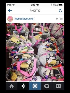 instagram swag bags summer soiree