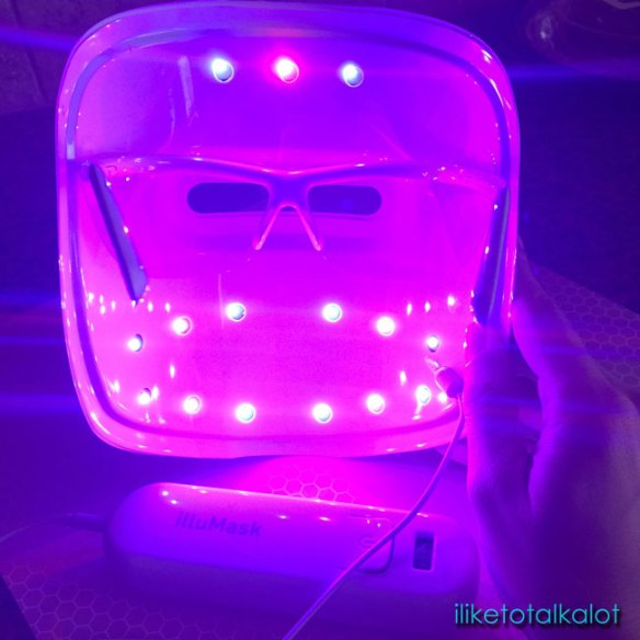 illumask anti acne light therapy mask iliketotalkalot