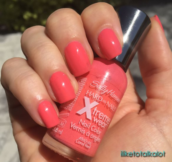 mermaid-nails with sally hansen coral reef by iliketotalkblog