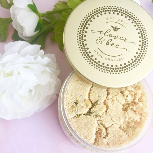 clover and bee skincare body polish review by iliketotalkblog