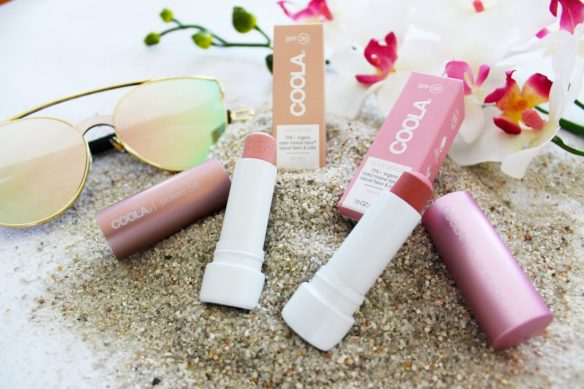 Coola Suncare Mineral LipLux Review and Swatches by iliketotalkblog