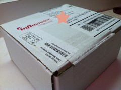 Holiday VoxBox 2011 Arrival Influenster
