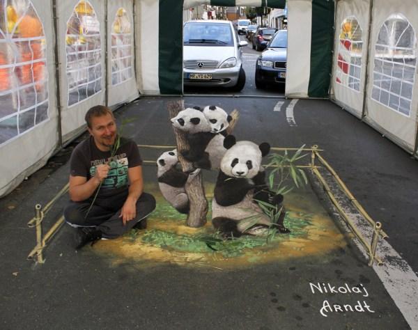 Beautiful 3d Street Art Nikolaj Arndt 20 Pics Waste Time
