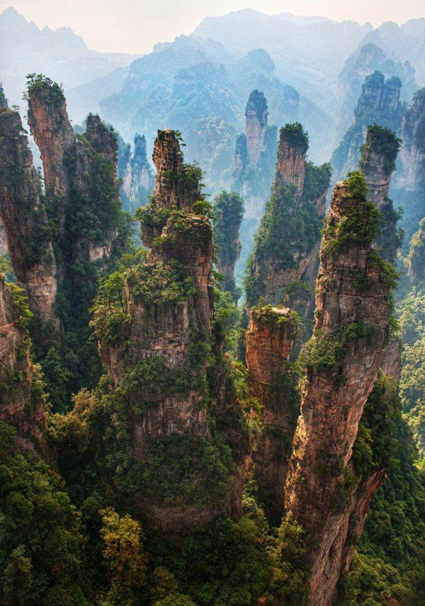 Zhangjiajie National Forest Park Waste Time