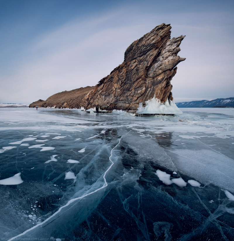 Breathtaking Photos Of Frozen Lake Baikal In Siberia