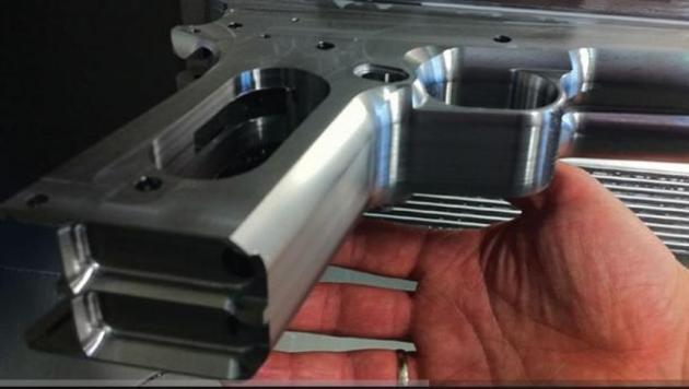 machining pistol