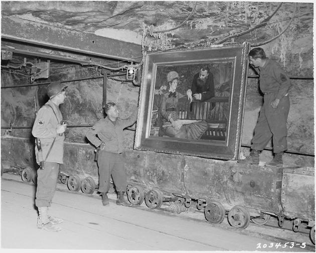 Salt Mines Nazi Loot