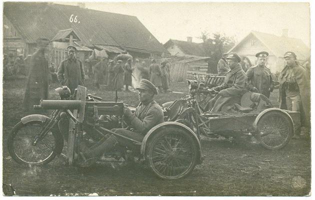 Russian WW1 troops