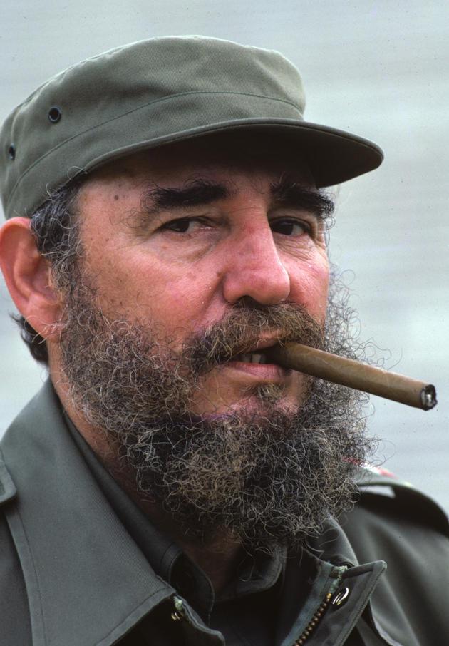 Fidel Castro HD with Coheba Cigar