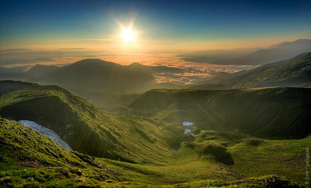 Svidovets Ridge, Carpathian Mountains, Ukraine