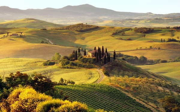 Daily Wallpaper Tuscany Italy I Like To Waste My Time