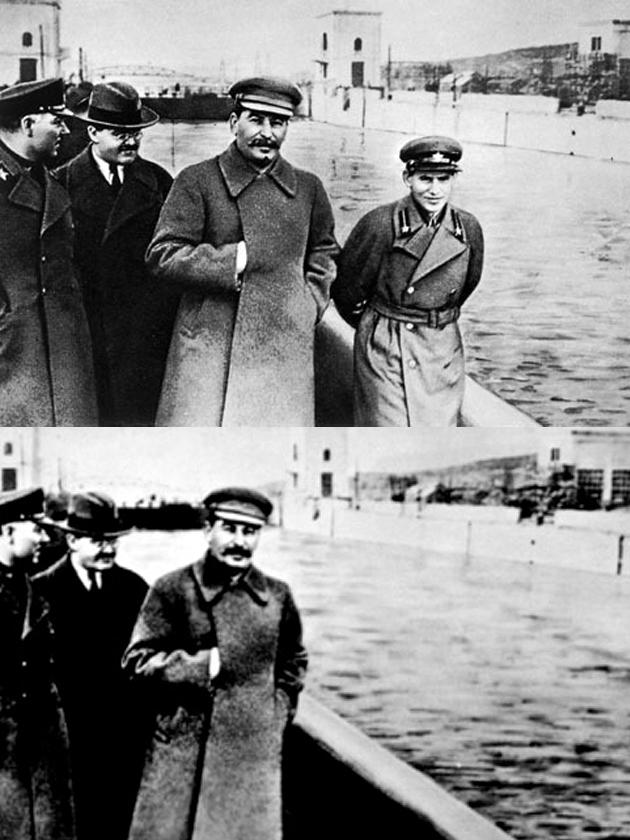 soviet doctored photo