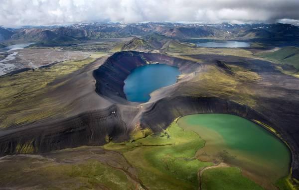 Iceland Landscape Volcano