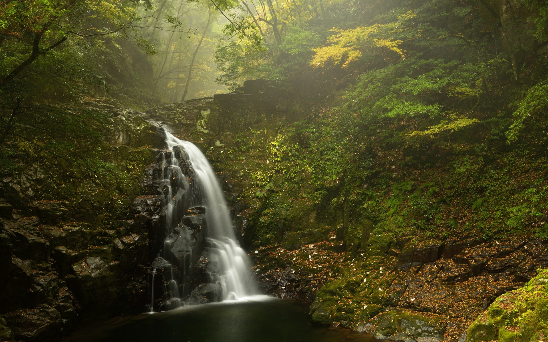 Animated Waterfalls Wallpapers Free Download Daily Wallpaper Fudō Falls Japan I Like To Waste My Time