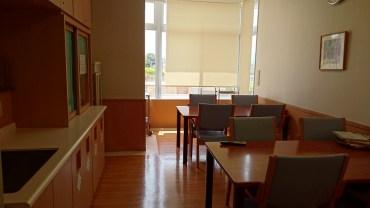 visitors lounge nakatsu citizens hospital japan