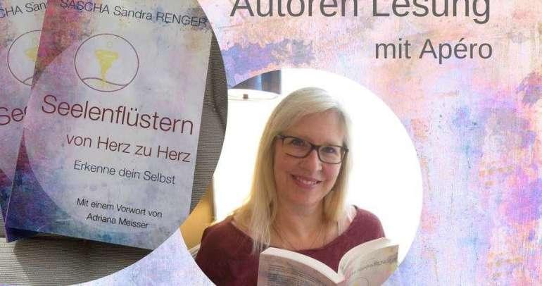 """""""Seelenflüstern von Herz zu Herz"""" Vollmondlesung mit Sascha Sandra Renger – Dienstag, 29. Mai 2018"""