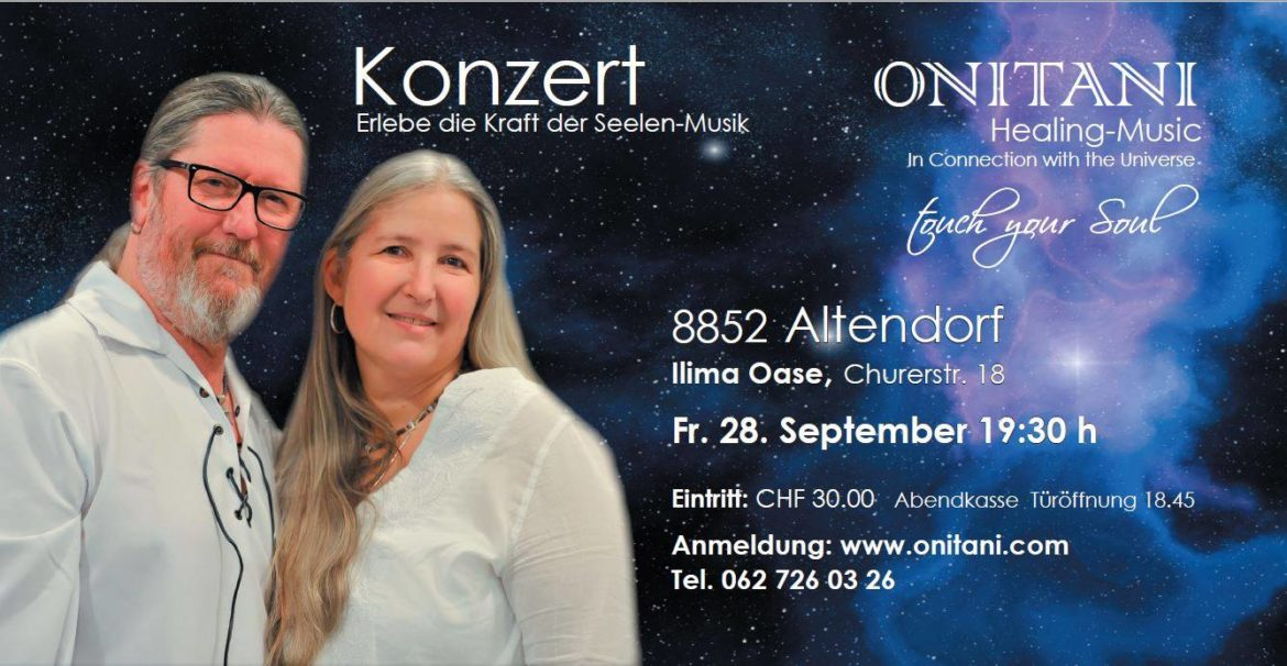 ONITANI Konzert  28.September 2018