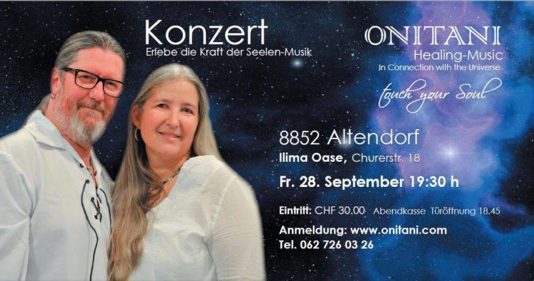 ONITANI Konzert  28.September 2018