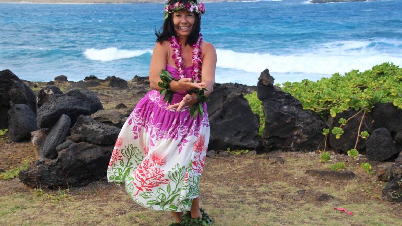 Hawaiianischer HULA TANZ mit Bettina Pomaikai Fron 24. August 2019