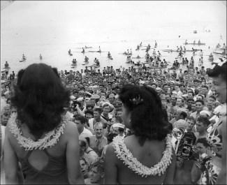 Crowd on the beach