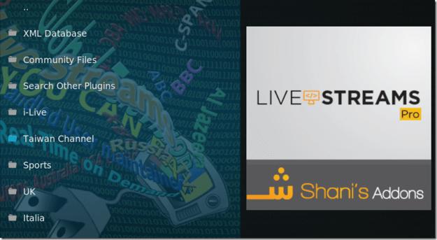 如何在KODI裡插入多個直播M3U-Live Streams Pro