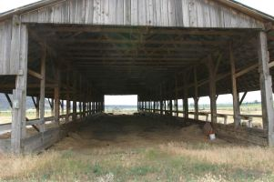 Inside of Barn