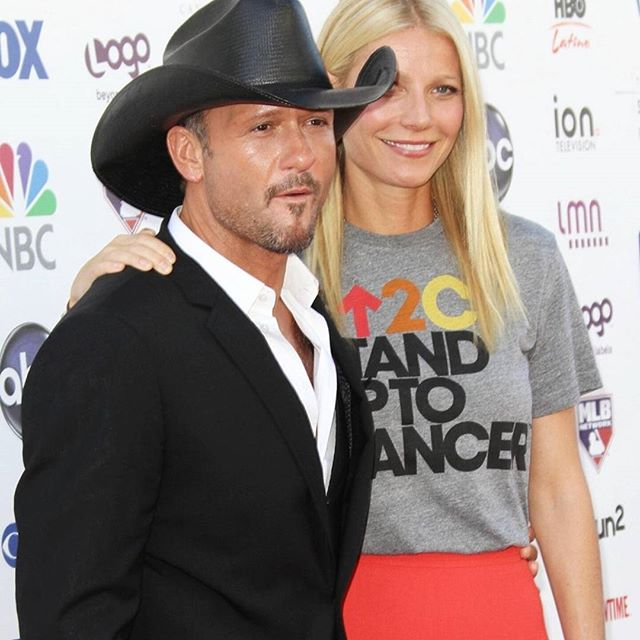 @thetimmcgraw @gwynethpaltrow standing up to cancer. #cancer #standuptocancer #event #hope #ILL #motivation #ILIVELIFEILL #kids celebrities #help #showingup #dontletsetbackskeepyouback #timmcgraw #gwynethpaltrowILIVELIFEILL.COM