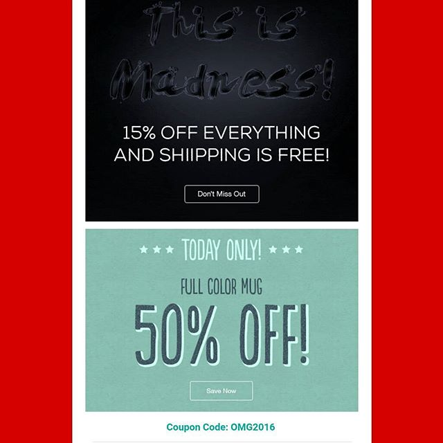 This is madness! FREE shipping, 50% OFF full color mugs, and 15% off everything! -ilivelifeill.com#sale #deal #black #Friday #Christmas #holiday #shopping #online #website #sales #deals #omg #coupon #shop #fashion #mugs #girl #women #men #boy #children #apparel #baby #clothes #business