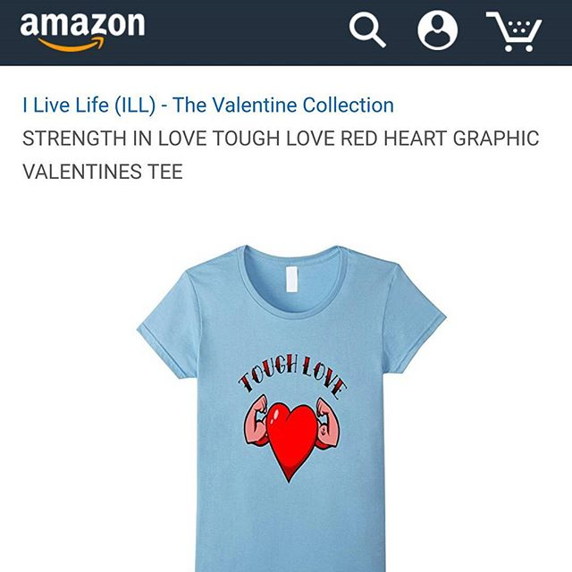 ? TOUGH LOVE.Get in time for Valentine's DAY with Prime 2 day shipping. #ilivelifeill #amazon #apparel #america #style #fashion #cute #gym #fitness #love #graphic #tee #valentines #heart #muscle #strong #swag #shop #chic #unique #vibrant #quality #online #store #instagood