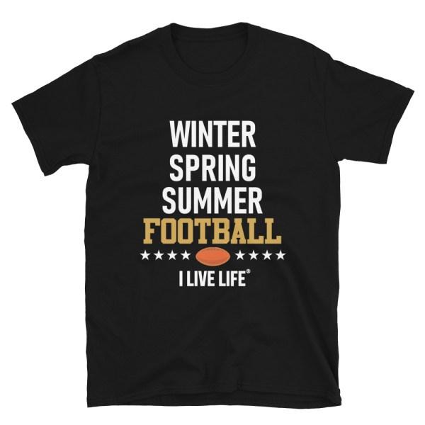 Winter Spring Summer Football Tshirt