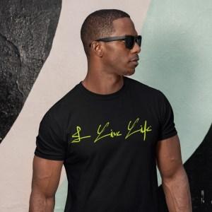 I Live Life Signature Tshirt