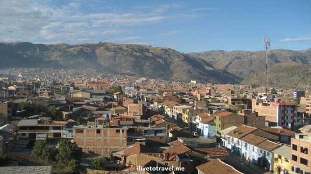 Huaraz, Peru, Ancash, mountain, vista, view