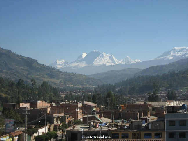 Mt. Huascarán in Ancash (not far from Huaraz) one of the tallest mountains in the hemisphere