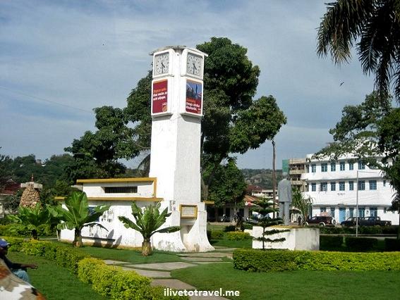 Downtown Mwanza, Tanzania