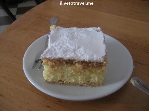 cream cake, Karol Wojtyla, John Paul II, Wadowice, Poland, photo, travel
