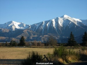 New Zealand – Traveling from Christchurch to Franz Josef