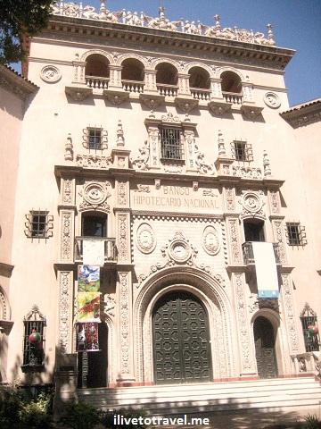 Bank building in Mendoza, Argentina