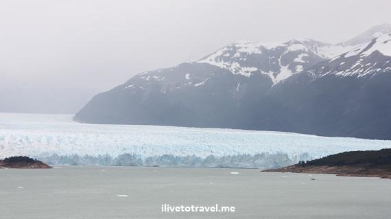 Perito Moreno Glacier in Argentina's Patagonia near El Calafate