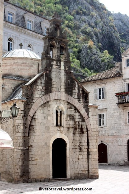 Orthodox Church in Kotor, Montenegro