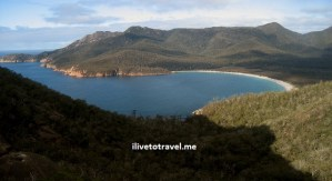Exploring Wineglass Bay in Tasmania