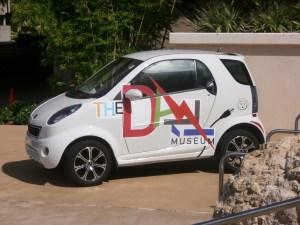 Car at the Dali Museum