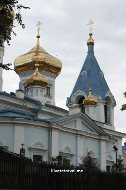 Stanful Teodor Tiron Church in Moldova