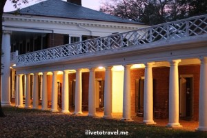 Columns and architecture at the University of Virginia