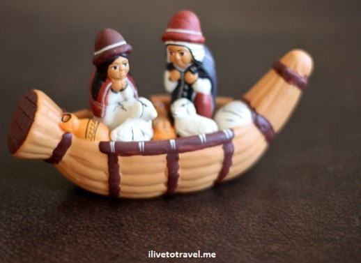 Nativity scene from Peru - Christmas