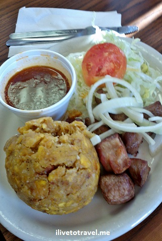 Mofongo from Puerto Rico in Tampa, Florida
