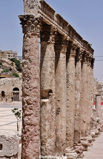 The Roman Theater in Amman, Jordan