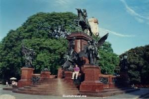 Buenos Aires, Argentina, city, monuments, architecture, Canon EOS Rebel, statue