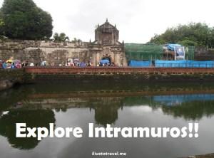 Intramuros, Manila, Philippines, Filipinas, history, Spanish, colonial, Fort Santiago