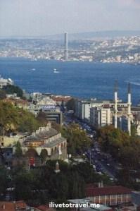 Istanbul, Turkey, Bosphorus, sea, mosque, bridge, travel, exotic, Canon EOS Rebel