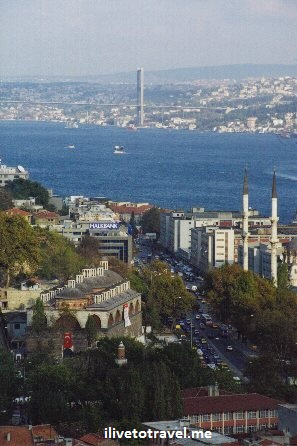 Istanbul, Turkey, Bosphorus, sea, mosque, bridge, travel, exotic, Canon EOS Rebel, Turkiye